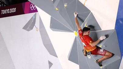 Tokyo 2020: Oro para España en escalada de la mano de Alberto Ginés