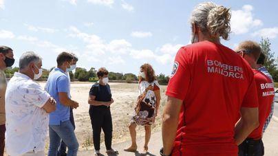 Santanyí conoce de la mano del Consell el nuevo proyecto del parque de bomberos