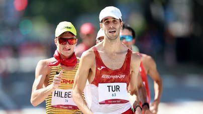 Tokyo 2020: El balear Marc Tur pierde el bronce de los 50 kilómetros marcha a 200 metros de la meta
