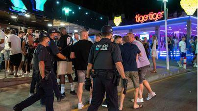 Cargas policiales en Punta Ballena ante los altercados provocados por turistas