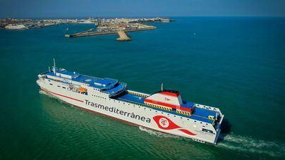 Primer aniversario del ferry Ciudad de Valencia en la línea Cádiz-Canarias