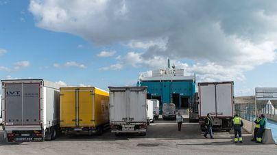 El tráfico de mercancías se recupera en Baleares al mover 6,5 millones de toneladas en el primer semestre