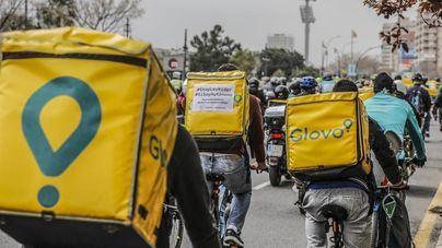 La ley que obliga a contratar a los 'riders' entra en vigor este jueves