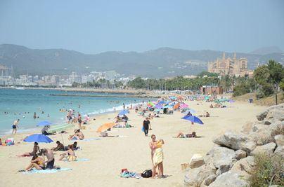 Los termómetros llegan este jueves a los 40 grados en Mallorca