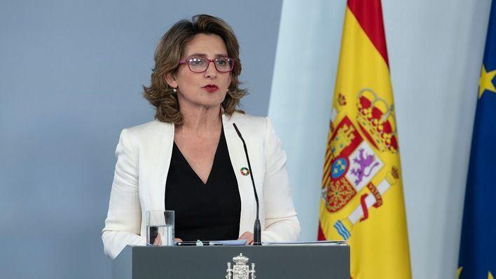 La ministra responde a Podemos tras anunciar protestas por el precio de la luz: