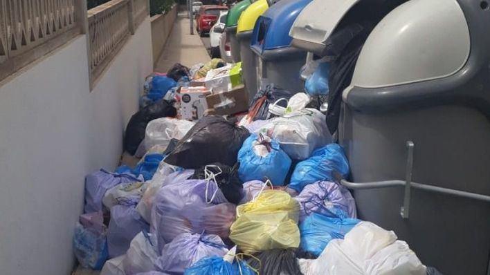 Huelga de basuras en Capdepera: