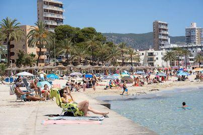 El calor extremo con temperaturas superiores a los 40 grados se asienta en Mallorca