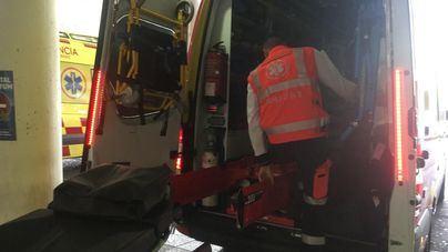 Cuatro heridos, uno de ellos grave, tras un choque frontal de dos coches en Ibiza