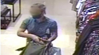Detenido tras robar hasta 14 veces en una tienda de ropa de Palma