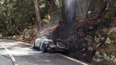 Extinguidos dos pequeños incendios en la Serra de Tramuntana