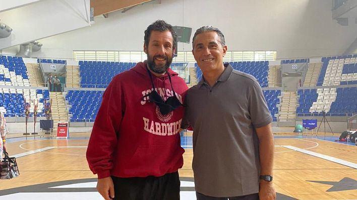 Adam Sandler y Sergio Scariolo, juntos en Son Moix