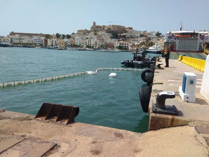 Buscan restos del hombre decapitado tras arrollar un ferry su lancha en Ibiza