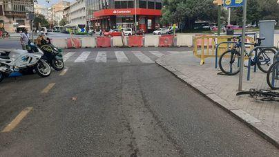 Cierran la calle Nuredduna y las obras del primer tramo durarán dos meses