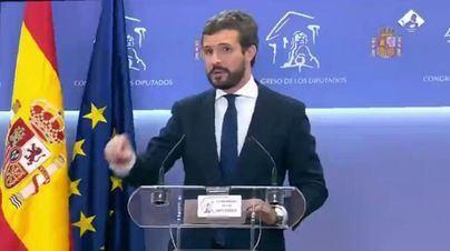 El PP lanza la campaña #DóndeEstáSánchez con Casado exigiendo que no se