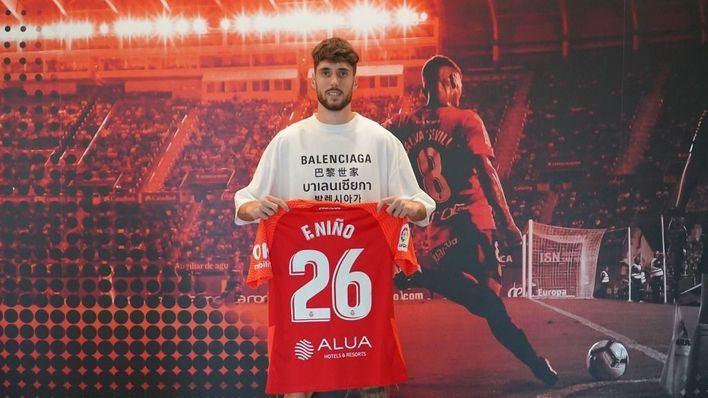 El Real Mallorca confirma la incorporación de Fer Niño para apuntalar la delantera