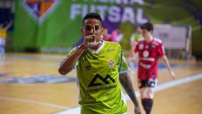 Cléber se marcha del Palma Futsal cedido al Real Betis