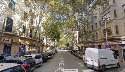 Cs Palma denuncia que Pere Garau se verá muy perjudicado al peatonalizar Nuredduna