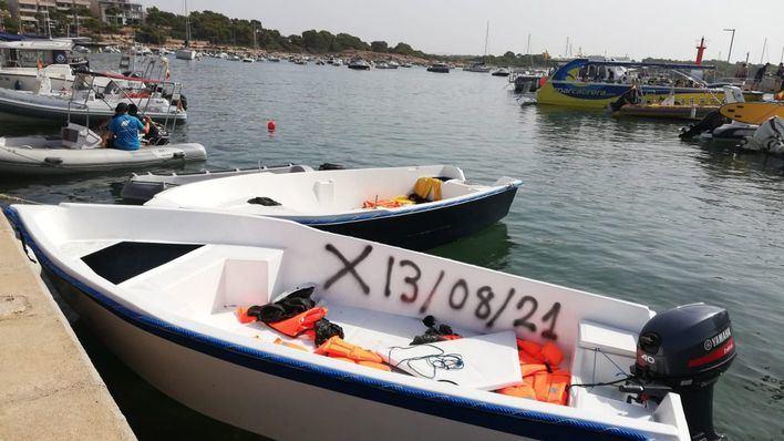La Policía Nacional detiene al patrón de la patera que llegó a Formentera el 14 de agosto