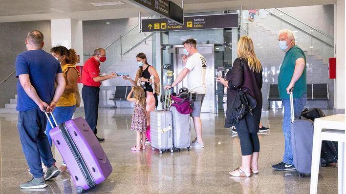 Baleares opera 1.441 vuelos de los que un 70 por cien son internacionales