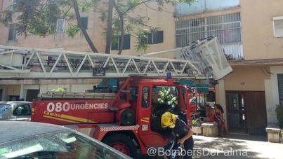 Fallece una mujer en el incendio de una vivienda en Palma