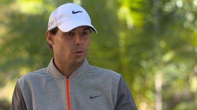 Nadal compite en el mid-amateur de golf de Baleares