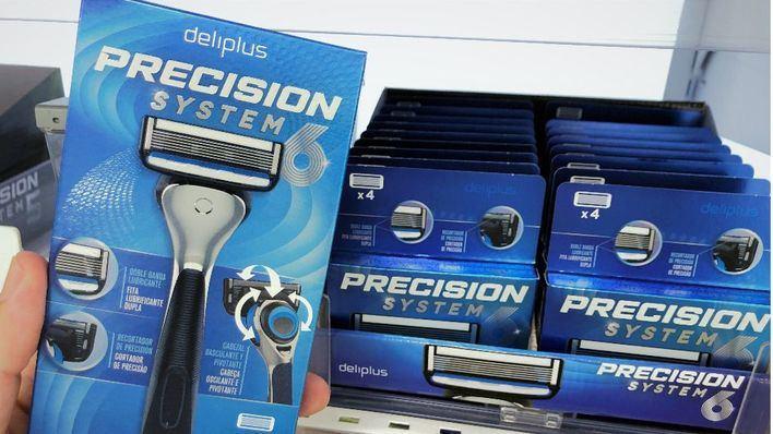 Mercadona vende más de 900 maquinillas de afeitar de seis hojas precisión System6 al día