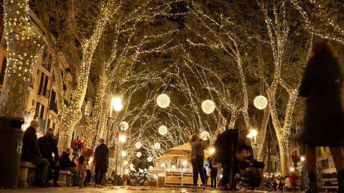 Palma encenderá el 25 de noviembre sus luces de Navidad