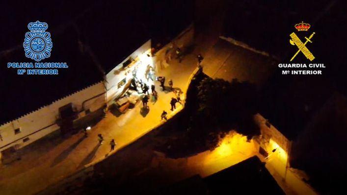Golpe al tráfico de cocaína: cae una importante organización con ramificaciones en Ibiza