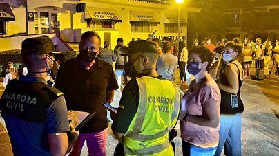Desalojan a 150 turistas en un apartahotel de Alaior por un incendio