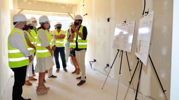 Las 48 nuevas viviendas públicas de Calvià estarán finalizadas a finales de año