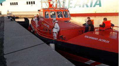 Interceptadas dos pateras en aguas de Baleares con 29 migrantes a bordo