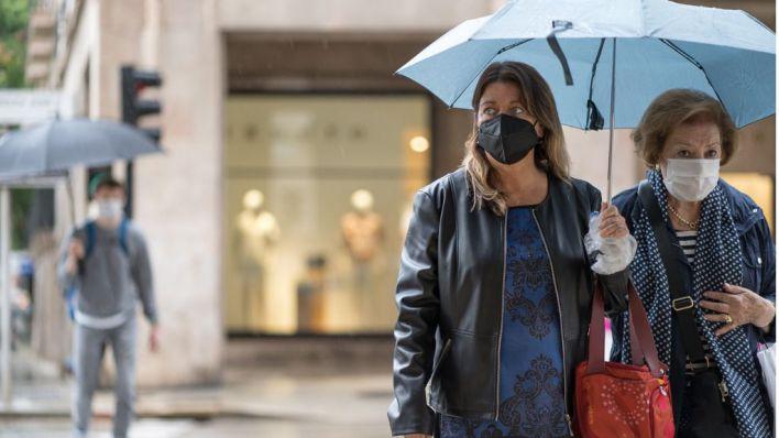 Alerta por fuertes lluvias y tormentas en Mallorca