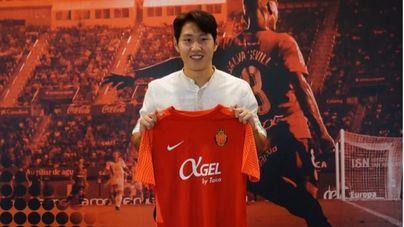El Mallorca presenta al surcoreano Kang In Lee