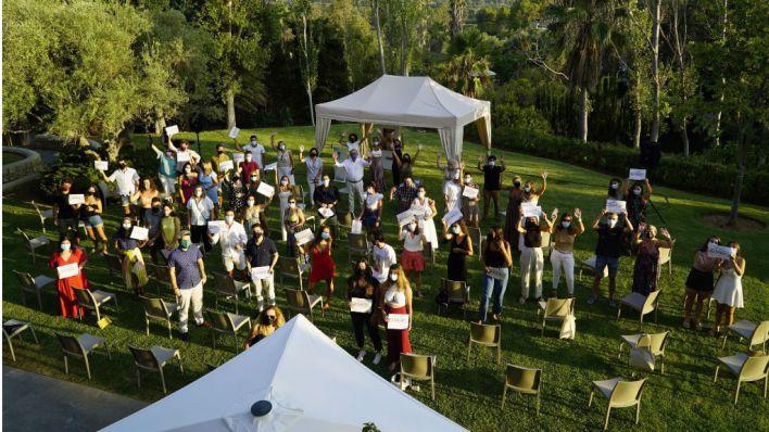Más de 80 jóvenes de Calvià finalizan su formación a través de las becas del Ayuntamiento