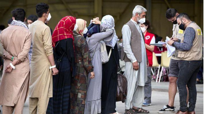 Llega a Mallorca la primera afgana refugiada