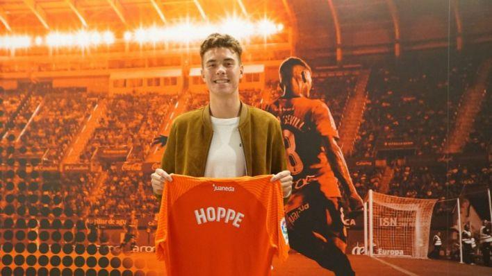 El Mallorca cierra su plantilla con Hoppe, la esperanza de cara a gol