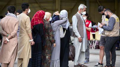 Baleares acogerá cinco familias afganas: son 33 personas, casi todos menores