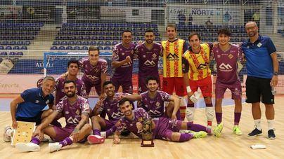 El Palma Futsal gana el 'Ciudad del Vino'