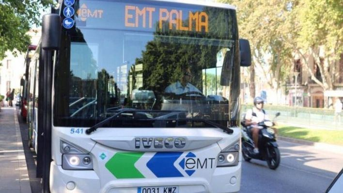 EMT Palma aumenta esta semana las frecuencias en cinco líneas ante la vuelta al colegio