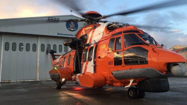 Evacuado en helicóptero desde un ferry a Son Espases un niño de ocho años con un ataque de epilepsia