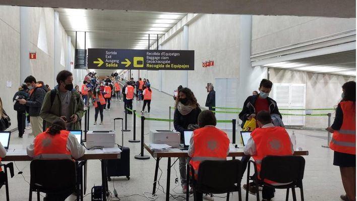 Los viajeros nacionales con certificado Covid no tendrán que rellenar el formulario en Baleares
