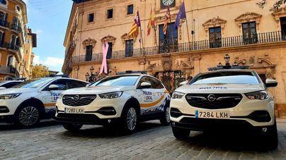 La Policía Local de Palma amplía su flota con 15 vehículos de 'renting'