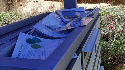 Toneladas de papel a la basura sin posibilidad de ser reciclados en Calvià
