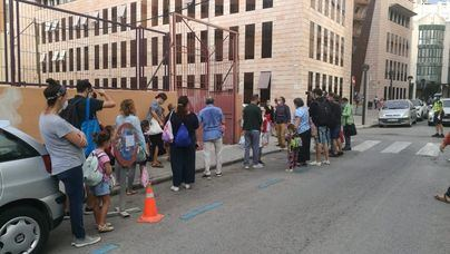 Palma moviliza más de 100 policías ante el inicio de la vuelta al colegio