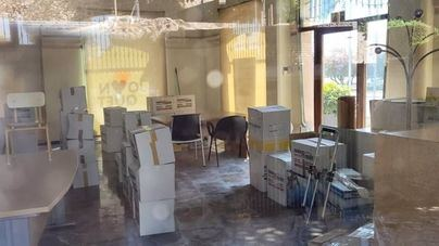 Cs Palma denuncia que Cort utiliza un edificio catalogado BIC como almacén