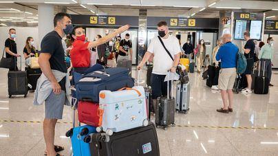 El aeropuerto de Palma prevé la llegada de 2.727 vuelos hasta el lunes