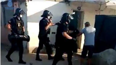 La Policía busca armas de fuego robadas de cinco trasteros en Palma