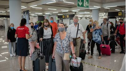 Baleares opera 1.251 vuelos, 887 de ellos internacionales