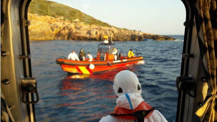 Arrestados otros 15 migrantes llegados en patera a Formentera