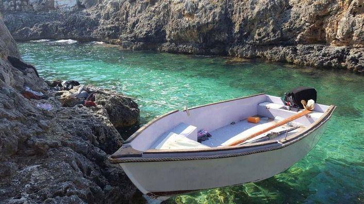Interceptan una nueva patera con 14 migrantes en la zona de Es Copinar de Formentera